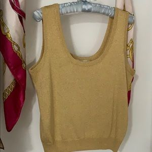 A St John sleeveless with glitters